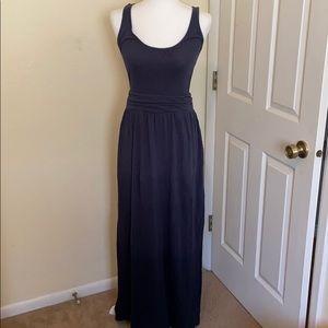 Columbia ombré blue maxi dress